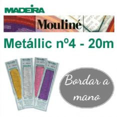 METALLIC MOULINÉ Nº 4